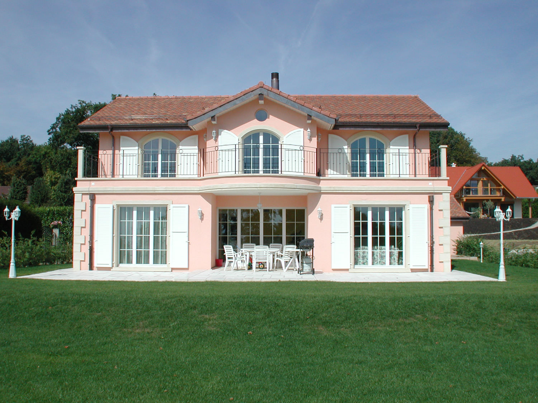 Construction d 39 une villa individuelle trovatelli for Construction villa